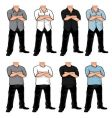 bodies pack vector image vector image