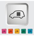 Car sliding door vector image