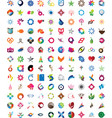 huge collection trendy icons vector image vector image