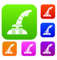 joystick set collection vector image vector image
