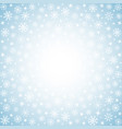 light winter background with hand drawn snow vector image