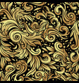 seamless vintage baroque background vintage vector image