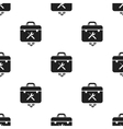 Toolbox icon in black style isolated on white vector image vector image