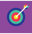 Archery Icon target icon vector image vector image