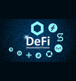 Defi - decentralized finance token symbols