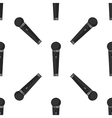 Different microphones types pattern vector image