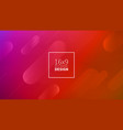 futuristic design red background templates vector image