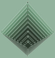 isometry volumetric pyramid vector image vector image