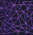 purpe light triangle pattern vector image