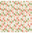 seamless abstract pattern with colored rectangles vector image