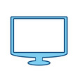 tv screen technology vector image