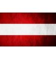 Austrian grunge flag background vector image vector image