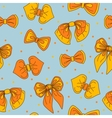 bow-tie collection seamless pattern vector image