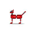 cat robot modern high tech toy animal pet clipart vector image vector image