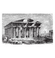 temple of neptune located in the graeco-roman vector image vector image