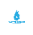 Water House Logo vector image vector image