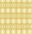 yellow pattern vector image vector image