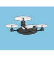 air drone vector image vector image