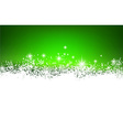 Christmas green abstract background vector image vector image