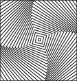 Concave Squares vector image vector image