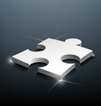 Part of the puzzle vector image