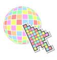 web color vector image vector image