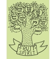 Biblical from the new Testament fruit vector image vector image