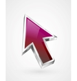 Flying arrow icon vector image