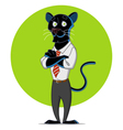 office panther vector image