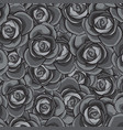 rose seamless pattern flower seamless pattern vector image