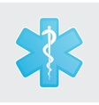 medical icons on white vector image