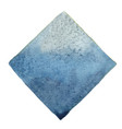 abstract blue and grey square watercolor banner vector image vector image