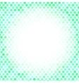 Abstract Green Mosaic Pattern vector image vector image