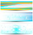 Business banners vector image