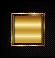 gold glittering spiral star dust trail sparkling vector image