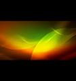 neon wave background vector image