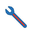 Wrench tool repair support icon