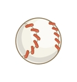 Baseball ball icon cartoon style vector image vector image