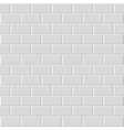 Brick wall texture - seamless vector image vector image