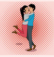 cute couple design vector image