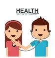 healthcare concept design vector image vector image