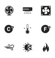 icons for theme air conditioning