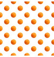 round cookies pattern seamless vector image