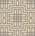 vintage pattern braid vector image vector image