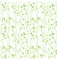 wild flower seamless floral endless pattern vector image vector image
