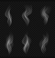 abstract transparent smoke vector image