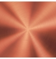 Bronze Technology Metal Background vector image vector image