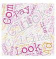 Chitika What Went Wrong text background wordcloud vector image vector image