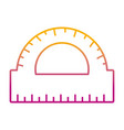 degraded line conveyor ruler education school vector image vector image