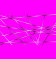 gentle magenta background with cross metallic vector image